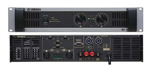 yamaha xp3500 2 channel power amplifier 2 x 350w at 4 ohm full compass systems. Black Bedroom Furniture Sets. Home Design Ideas