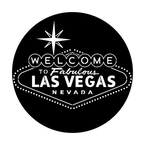 "Apollo Design Technology ME-1234 Steel Gobo with ""Welcome to Vegas"" Image Pattern ME-1234"