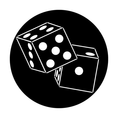 """Apollo Design Technology ME-2519 Steel Gobo with """"Dice"""" Image Pattern ME-2519"""