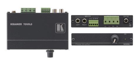 Kramer 900N Stereo Audio Power Amplifier (8.4 watts per channel) 900N