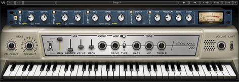 Waves Electric 200 Piano [DOWNLOAD] Piano Effects Plugin EL200PIAN