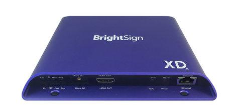 BrightSign XD1033  H.265 Network Player 4k, Dual Video Decoder XD1033