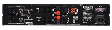 Gemini XGA-2000 2000W Power Amplifier XGA-2000