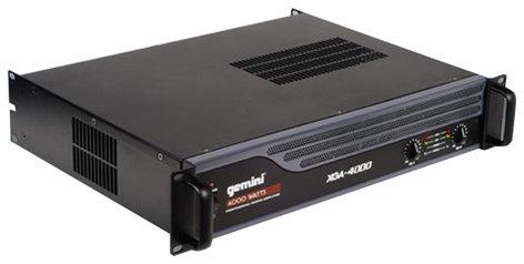 Gemini XGA-4000 4000W Power Amplifier XGA-4000