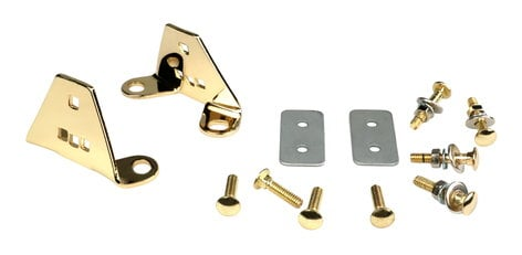 Latin Percussion LP912B Congas Gold Mounting Bracket (2 Pack) LP912B