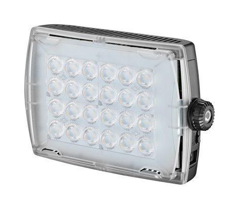 Manfrotto MICROPRO2 LED Fixture with Dimming Control and Gel Filter MLMICROPRO2