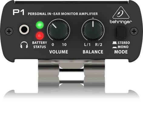 Behringer P1-BEHRINGER POWERPLAY P1 In-Ear Monitor Power Amplifier P1-BEHRINGER