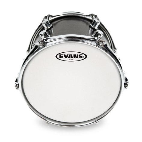 "Evans B06G12 6"" G12 Coated White Drum Head B06G12"