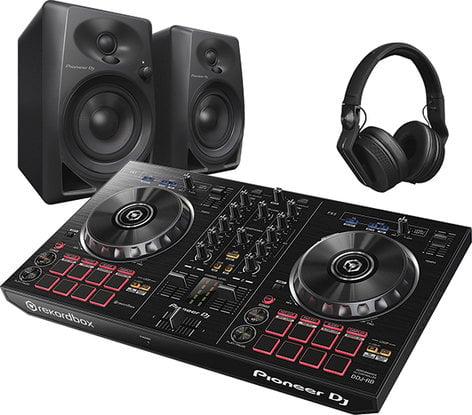 Pioneer PK-STP02 DJ Starter Pack with DDJ-RB, Monitors and Headphone PK-STP02