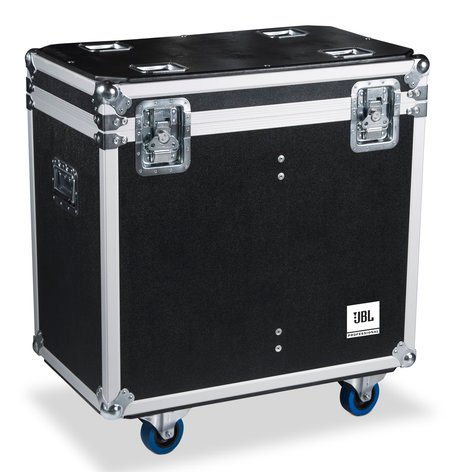 "JBL Bags JBL-FLIGHT-EON612-DUAL Flight Case for (2) EON612 Speakers, with Hinged Lid and 3.5"" Casters JBL-FLGT-EON612-DUAL"