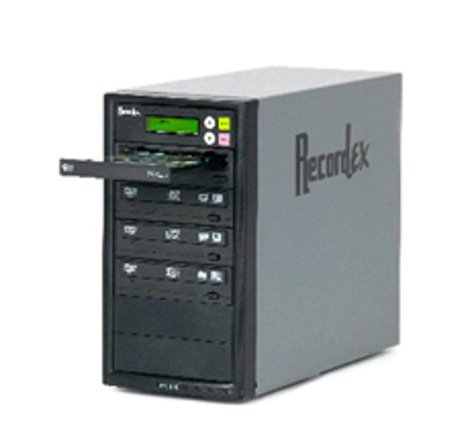 Recordex USA Inc. DVD300 CD/DVD Duplicator with 3 Target Drives DVD300