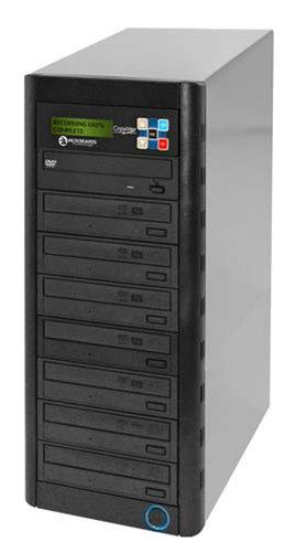 Microboards QD-DVD-H127 7-Bay DVD Duplicator with 250 GB Hard Drive QD-DVD-H127