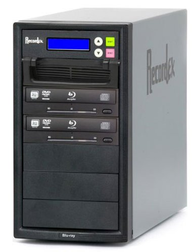 Recordex USA Inc. BD200 BD/CD/DVD Writer, 500 GB HD, 2 Target Drives BD200