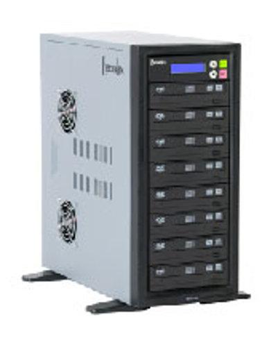 Recordex USA Inc. DVDX10H 250 GB Hard Drive, DVD/CD Duplicator, 10 Bay DVDX10H