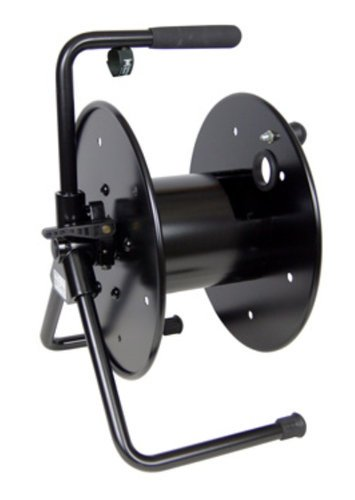 Hannay Reels AVC16-14-16 Portable Audio/Video Cable Reel in Black AVC-16-14-16