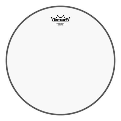"Remo SA-0314-TD 14"" Ambassador Clear Snare Side No Collar Drumhead SA-0314-TD"