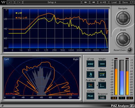 Waves V5-PZD40 PAZ Analyzer [DOWNLOAD] Psychoacoustic Analyzer V5-PZD40