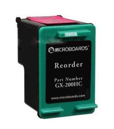 Microboards GX-200HC Replacement TriColor Cartridge for GX-1 Disc Publisher GX-200HC