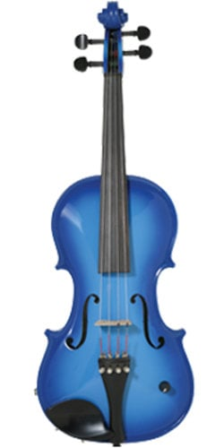 Barcus Berry BAR-AEVB Blue Acoustic/Electric Violin BAR-AEVB