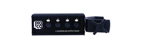 Pro Co DOC4U-O-CLAMP DMX Over CAT5 XLRF Output Box with Clamp DOC4U-O-CLAMP