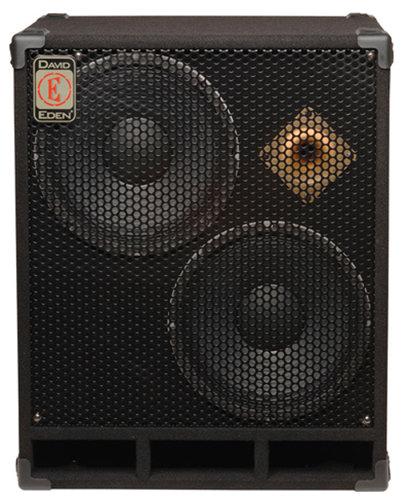 """Eden Amplification D212XST8 400W 8-Ohm 2x12"""" Bass Speaker Cabinet D212XST8"""