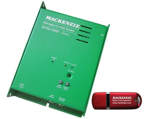 Mackenzie Labs DVSD-3000  Message-On-Hold System DVSD-3000