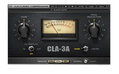 Waves CLA-3A Compressor/Limiter [DOWNLOAD] Compressor/Limiter Plugin CLA3ATDM