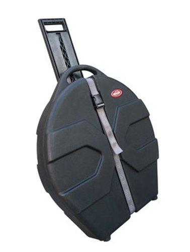 """SKB Cases 1SKB-CV24W 24"""" Cymbal Vault with Handle and Wheels 1SKB-CV24W"""