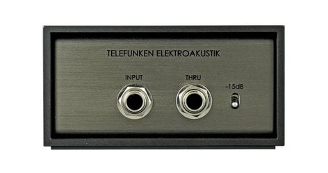Telefunken Elektroakustik TDA-1 Active Mono DI Box TDA-1