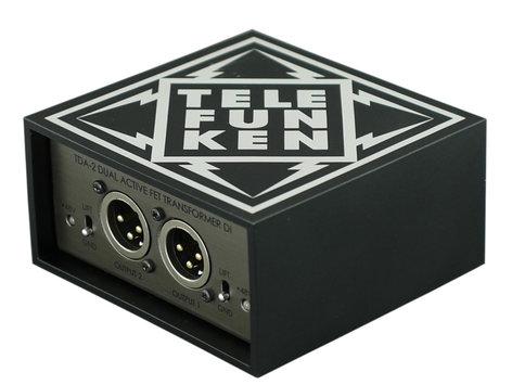 Telefunken TDA-2  Dual Unit, Active Stereo DI Box TDA-2