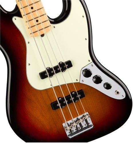 Fender American Professional Jazz Bass Electric Bass Maple Neck JBASS-AMPRO-MN