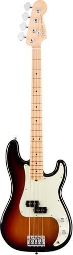 Fender American Professional Precision Bass Electric Bass Maple Fingerboard PBASS-AMPRO-MN