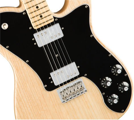 Fender American Professional Telecaster Deluxe Shawbucker Electric Guitar Maple Fingerboard Natural Finish TELE-AM-PRO-DLX-MN