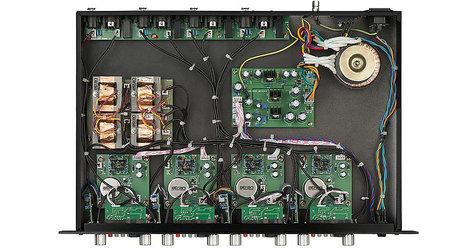 Warm Audio WA-412  4 Channel Discrete Microphone Preamp WA-412