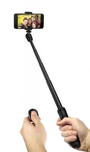 IK Multimedia iKlip Grip 4-in-1 Tripod, Tripod Adapter, Monopod and Video Handle for Smartphones IKLIP-GRIP