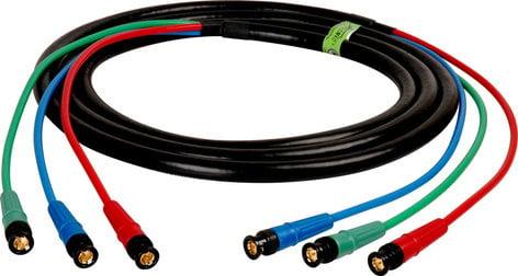 TecNec HD3BNC-3  3 ft HDTV 3-Channel BNC Component RGB Cable HD3BNC-3