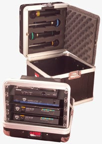 Gator Cases GM-4WR ATA Wireless Microphone System Case (for 4 Systems) GM4WR