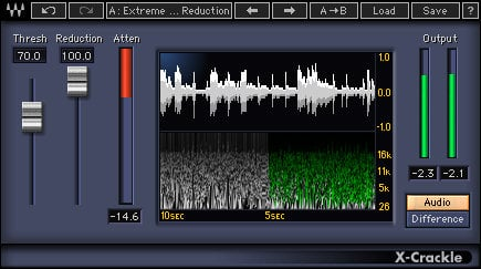 Waves X-Crackle [DOWNLOAD] Audio Restoration Plugin XCRTDM