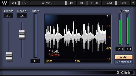 Waves X-Click [DOWNLOAD] Vinyl Restoration Plugin XCLTDM