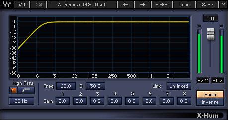 Waves X-Hum [DOWNLOAD] Hum Removal Plugin XHTDM