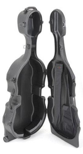 SKB Cases 1SKB-544 Molded Hardshell Case for 4/4 Cellos 1SKB-544