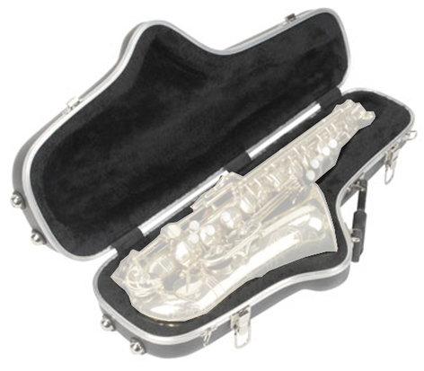 SKB Cases 1SKB-140 Contoured Hardshell Case for Alto Saxophones 1SKB-140