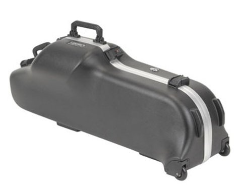 SKB Cases 1SKB-455W Contoured Pro Baritone Sax Case with Wheels 1SKB-455W
