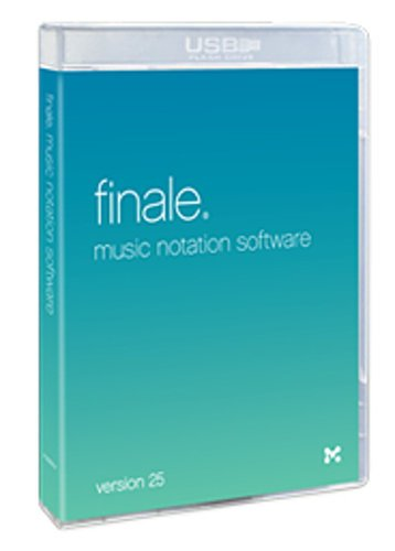 Make Music Finale 25 [BOXED] Music Notation Software FINALE-25-BOX