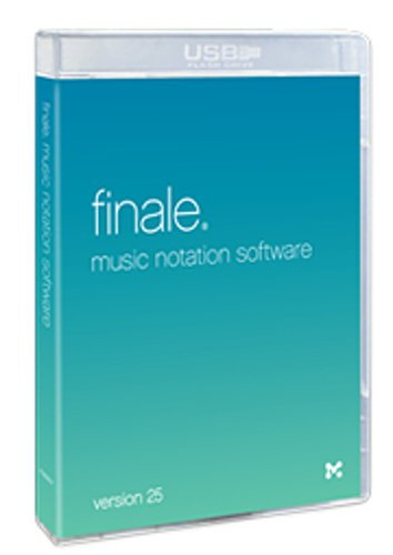 Make Music Finale 25 [EDU STUDENT/FACULTY - BOXED] Music Notation Software FINALE-25-EDU-BOX