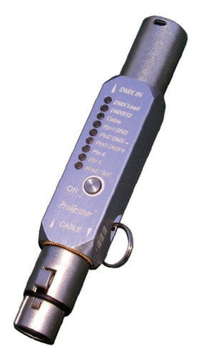 TMB ProTester DMX Tool Compact DMX Signal and Cable Diagnostic Tool DMX-PRO-TESTER