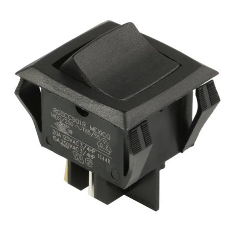 QSC SW-000037-00  Power DPST Rocker Switch for CX-204 (2-Pack) SW-000037-00