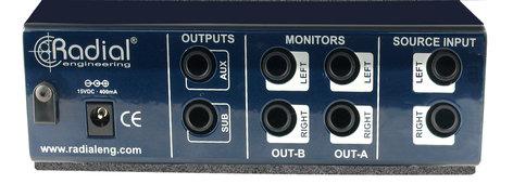 Radial Engineering MC3 Studio Monitor Controller MC-3