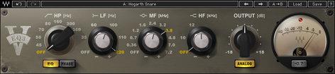 Waves V-EQ3 3-Band Equalizer Plugin VEQ3TDM