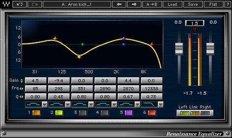 Waves Renaissance Equalizer [DOWNLOAD] Equalizer Plugin V5-RQD40